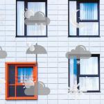 ¿Cómo protege la fachada ventilada al edificio de las condiciones meteorológicas?