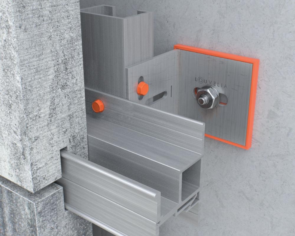 sistema de fijacion fachada HORMIGÓN-510